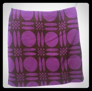 Boden Skirts - Boden Purple Circle Wool Skirt